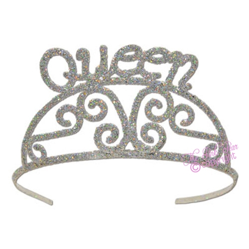 queen glitter tiaras