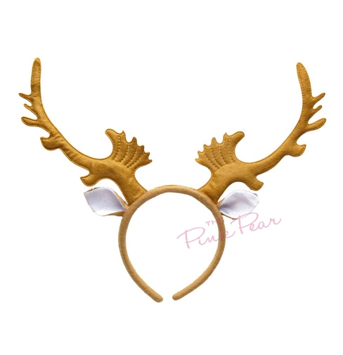 stag antlers with ears