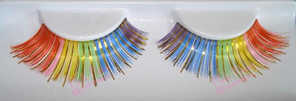 gay pride eyelashes