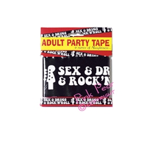 sex & drugs & rock 'n' roll party tape