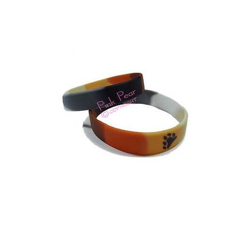 bear pride silicon bracelet