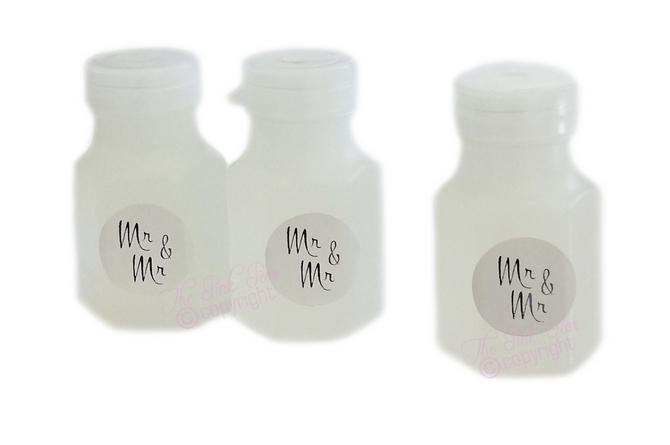 mr & mr text bubbles (3 bottles)