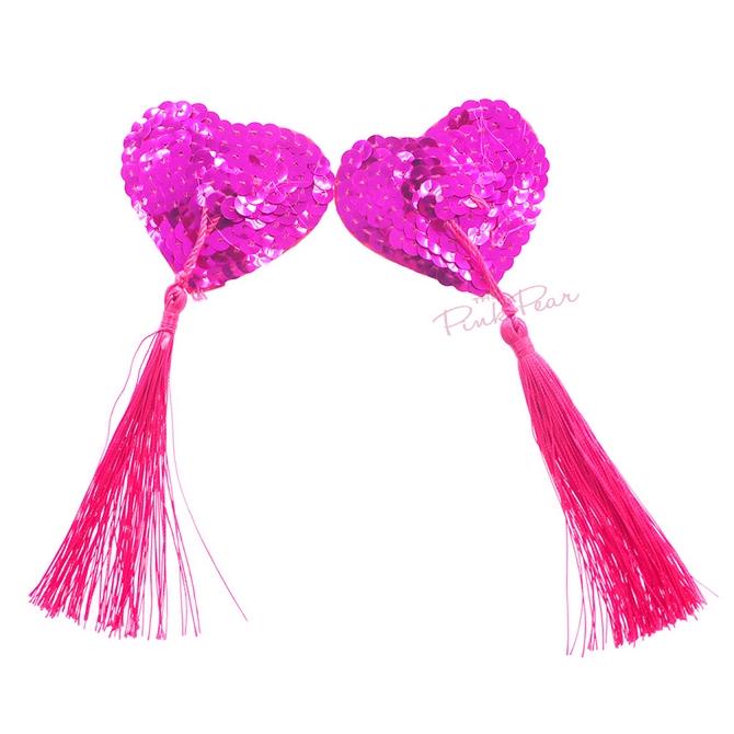 pink nipple tassels