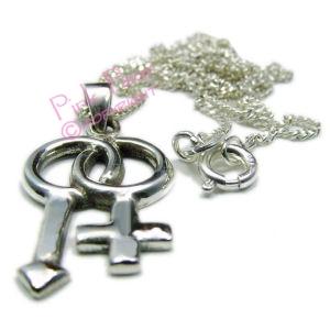 bisexual symbol pendant