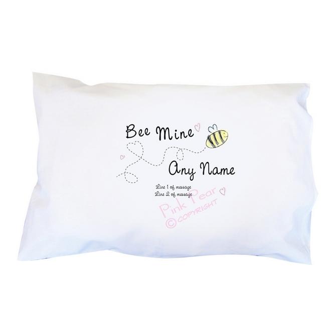 bee mine pillowcase