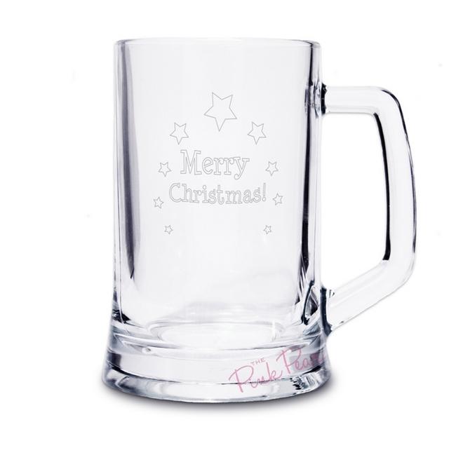 Merry Christmas Stern Tankard