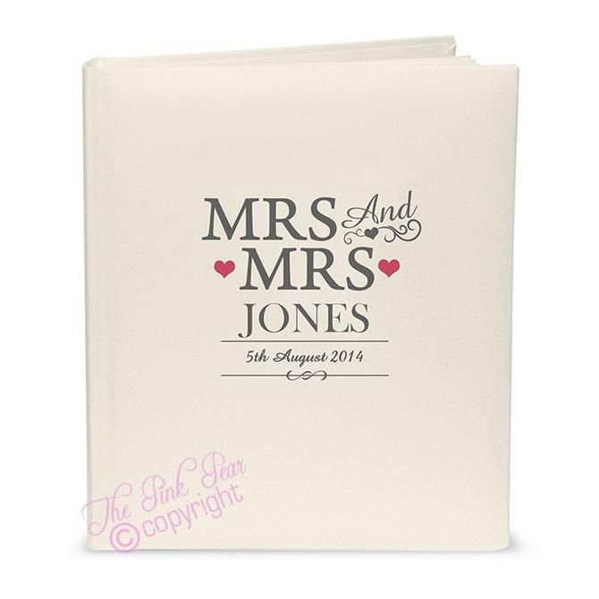 mrs & mrs civil ceremony traditional album
