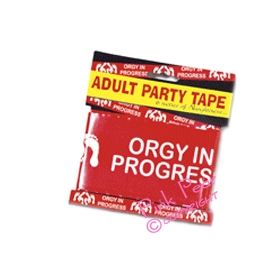 orgy in progress party tape