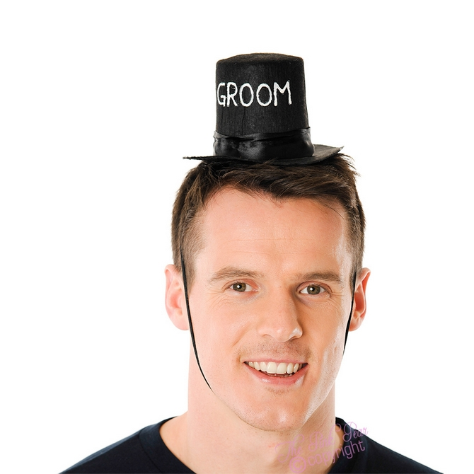 mini top hat - groom