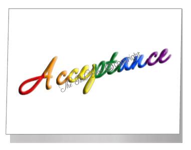 civil partnership acceptance wording card