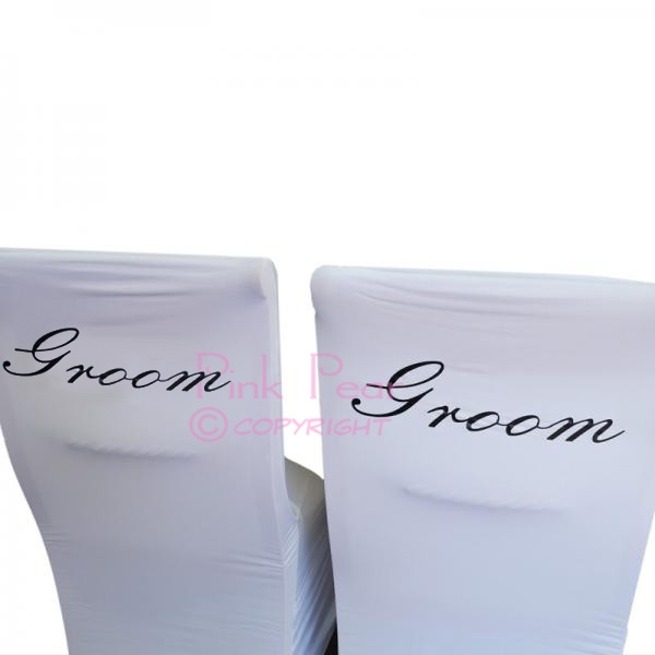 groom chair covers (set of 2)