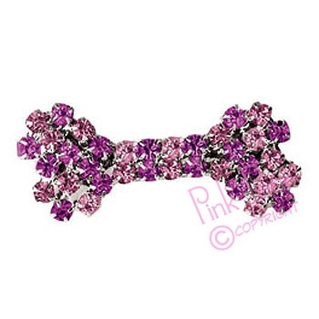 doggie hair slide - pink