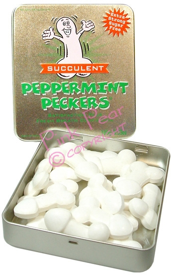 succulent peppermint peckers