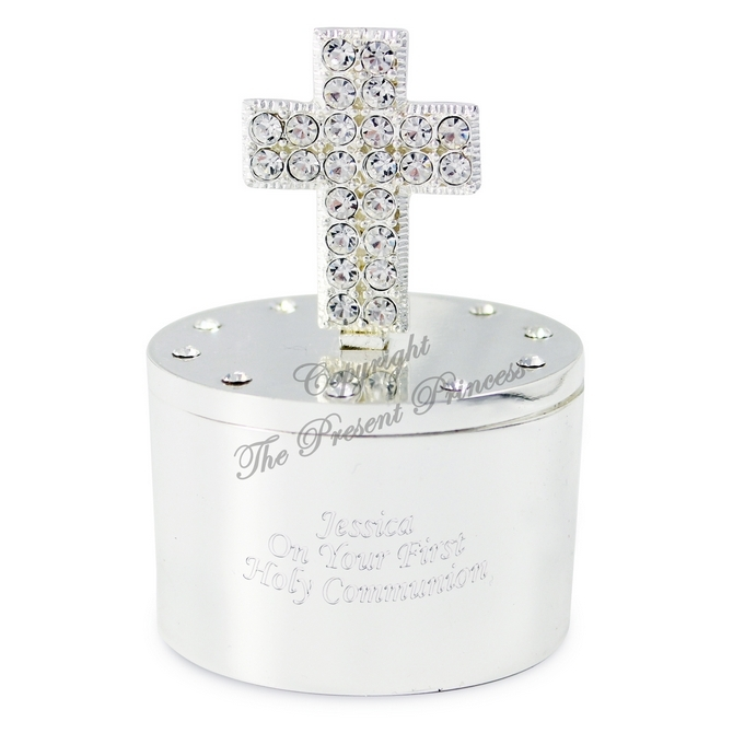 Cross Trinket Box
