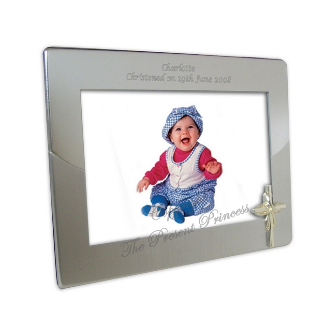 Two Tone Cross Photoframe
