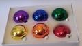 pride xmas baubles (set of 6)