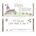 Whimsical Church Easter Chocolate Bar