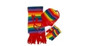 personalised gift box - rainbow hat, gloves & scarf set