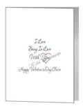 valentine card - love quote