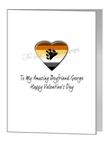 valentine card - bear pride heart & paw