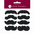 moustache theme drinks markers (16)