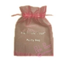 organza hen party bag