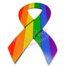rainbow ribbon magnet