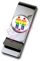 moneyclip - gay & lesbian motifs