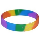 double rainbow wristband