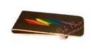 rainbow lightning bolt moneyclip