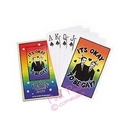 it's ok to be gay playing cards