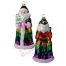 pride santa xmas ornament