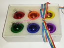 pride xmas baubles (set of 6)