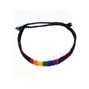 friendship bracelet - black