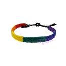 friendship bracelet - rainbow