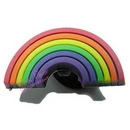 rainbow shoe charm