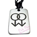 gay pewter pendant