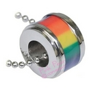 gay pride ring pendant