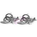 female lesbian symbol stud earrings