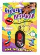 orgasm keyring with sound