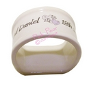 butterfly hearts wedding napkin ring