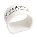 swirl napkin ring