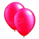 hen party balloons - pearlised hot pink (10)
