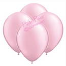 hen party balloons - pearlised pink (10)