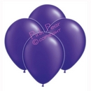 hen party balloons - metallic purple (10)