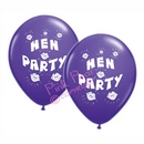 hen party balloons - purple