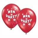 hen party balloons - red