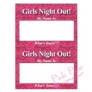 hen night name tags (pack of 16)