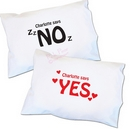 yes/no single pillowcase