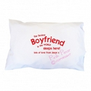 sexiest boyfriend pillowcase